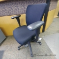 Black Fabric Haworth Look Office Task Chair