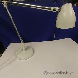 White and Chrome LED Desk Lamp
