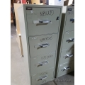 Gardex 4 Drawer Fire Proof Vertical File Cabinet B - Grade