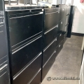 Black Offices To Go 4 Drawer Lateral Cabinet