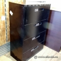Global Black 4 Drawer Lateral Filing Cabinet