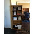 "Pair of Wood Bookcases w/ Adjustable Shelf Options 71""x28"""