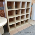 Blonde IKEA Storage 4x4 Cube Bookcase