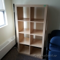 Blonde IKEA Storage 4x2 Cube Bookcase