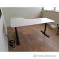 Blonde Ikea Bekant Corner Desk