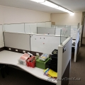 White Herman Miller Cubical Workstation