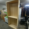 "Blonde Bookcase with Adjustable Shelves 79.5"" Tall"
