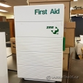 Zee Tall First Aid Cabinet w/ 4 Shelves and Door Storage