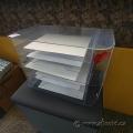 """6-Tray Jumbo Wall Mountable Desk Sorter 18"""" W x 10"""" D x 12"""" H"""
