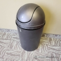 Umbra Black Flip Top Garbage Can