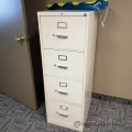 Hon Grey 4 Drawer Vertical File Cabinet, Locking
