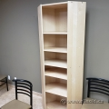 Blonde Bookcase with Adjustable Shelves