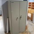 FireKing Beige Fire Proof 2 Door Storage Cabinet w/ Adj Shelves