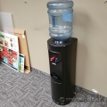 Black Water Cooler w/ Hot and Cold Taps