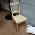 Blonde Wood Guest Chair