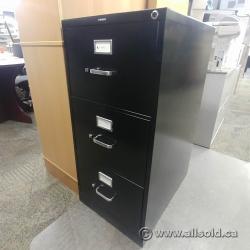 Hon 3 Drawer Vertical Legal File Cabinet