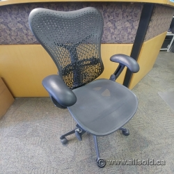 Herman Miller Mirra Grey Mesh Ergonomic Task Chair