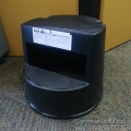 Black Rubbermaid Rolling Step Stool