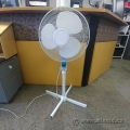 "Adjustable 3 Setting Floor Fan 42"" Tall"