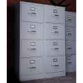 Hon Grey 4 Drawer Vertical Legal File Cabinet