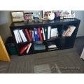 IKEA Kallax Espresso 8 Compartment Bookcase Shelf Unit 4x2