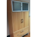 Ikea 4 Door Storage Cabinet with Single Hanging File Drawer