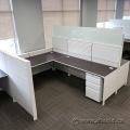 Allsteel Stride Systems Furniture Cubicle Workstation Desks
