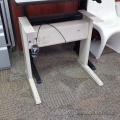 Ergotech Teknion Torsion Sit Stand Adjustable Desk Base, B Grade