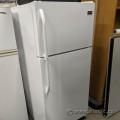 White Frigidaire Fridge w/ Top Load Freezer
