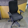 Black Fabric Back Office Task Chair