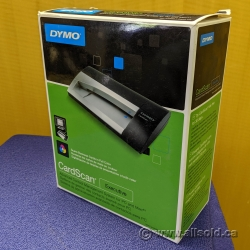 DYMO CardScan Executive 1760686 Portable Business Card Scanner