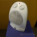 Pro Fusion White Oscillating Fan and Heater
