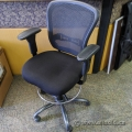 Black Mesh Back Office Drafting Chair