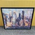 """New York New York"" Framed Canvas Wall Art by Marilyn Hageman"