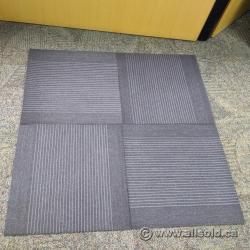 "Grey Carpet Square Tiles 24"" x 24"""