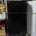 Black GE Concept II Fridge w/ Top Load Freezer CRTW1600RL-1