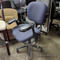 Haworth Improv H.E. Blue Patterned Office Task Chair