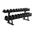 LF Signature Series Two Tier Dumbbell Rack