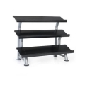 Stadium 3 Tier Flat Tray Dura-Bell Dumb Bell Kettle Bell Rack