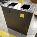 Busch Systems Aristata 2 Slot Industrial Business Garbage Can