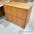 Peanut 2 Drawer Lateral File Cabinet, Locking