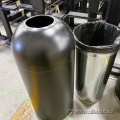 Dome Top Industrial Business Garbage Can