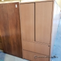 Peanut 2 Door 2 Drawer Wood Storage Cabinet