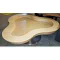 Large Three Leaf Clover Table
