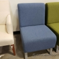 Blue Reception Lobby Chair