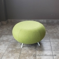 Green Reception Stool Chair Allermuir A622 Pebble