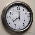 """La Crosse 18"""" Indoor/Outdoor Atomic Wall Clock"""