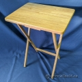 Wooden TV Tray Table