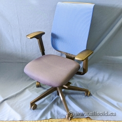Steelcase Reply Blue Mesh Back Office Task Chair