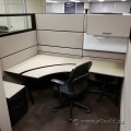 Teknion Sit stand Corner Desk